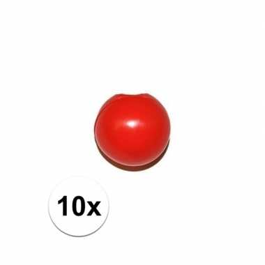 Carnavalskleding x rode clownsneus/neuzen zonder elastiek arnhem