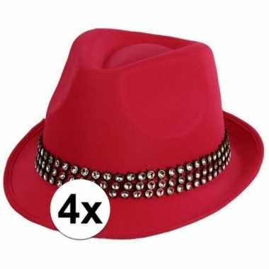 Carnavalskleding x roze toppers hoed zilveren steentjes arnhem