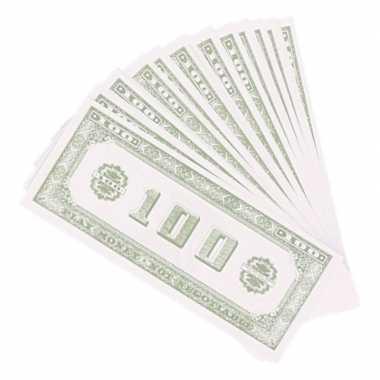 Carnavalskleding x speelgeld nep dollar biljetten dollar arnhem