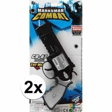 Carnavalskleding x stuks politie/militair speelgoed pistolen arnhem