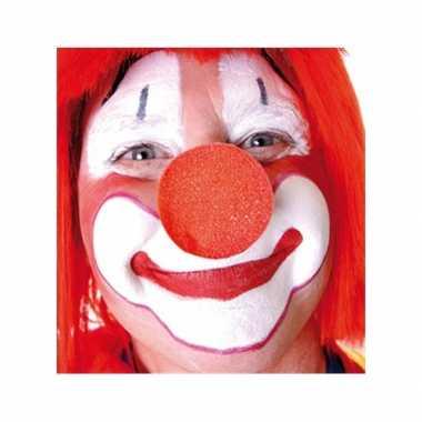 Carnavalskleding x stuks rode clowns neus/neuzen foam arnhem