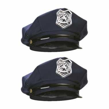 Carnavalskleding x stuks verkleed politiepet volwassenen arnhem