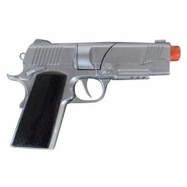 Carnavalskleding zilveren pistool shots arnhem 10078995
