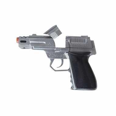 Carnavalskleding zilveren pistool shots arnhem