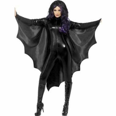Carnavalskleding zwarte vleermuisvleugels dames arnhem