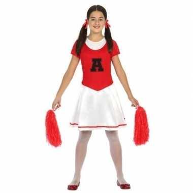 Cheerleader jurk/jurkje verkleed carnavalskleding meisjes arnhem