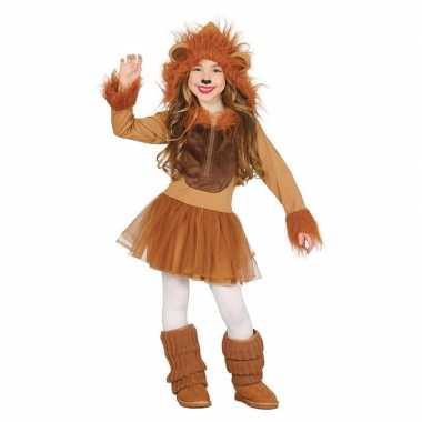 Dierencarnavalskleding leeuw verkleedjurkje meisjes arnhem