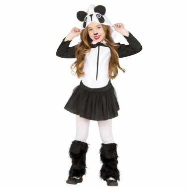 Dierencarnavalskleding panda verkleedjurkje meisjes arnhem