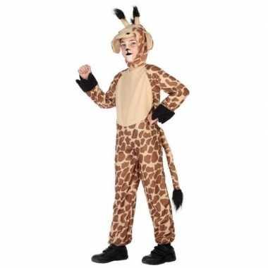 Dierencarnavalskleding verkleed carnavalskleding giraffe kinderen ar