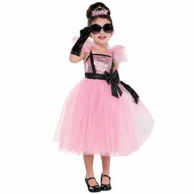 Diva glam prinses/prinsessen jurk carnavalskleding meisjes arnhem