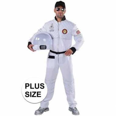 Grote maat astronaut verkleed carnavalskleding heren arnhem