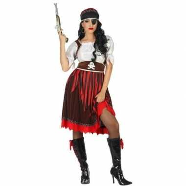 Grote maat piraat rachel verkleed carnavalskleding/carnavalskleding