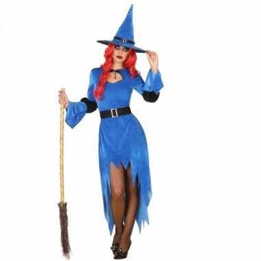 Carnavalskleding Dames Clown.Halloween Blauwe Heksen Carnavalskleding Dames Arnhem