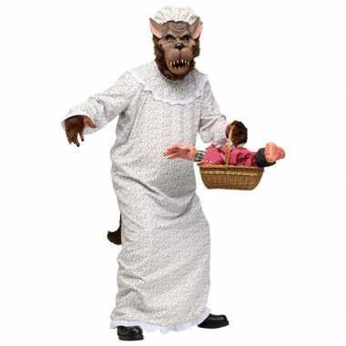 Halloween grote boze wolf carnavalskleding volwassenen arnhem