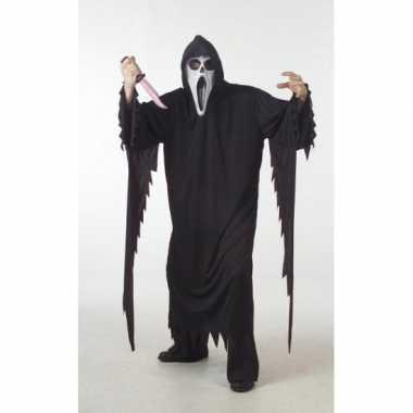 Halloween scream carnavalskleding grote maat arnhem