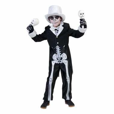 Halloween skelet carnavalskleding jongens arnhem