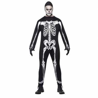Halloween skelet carnavalskleding volwassenen arnhem