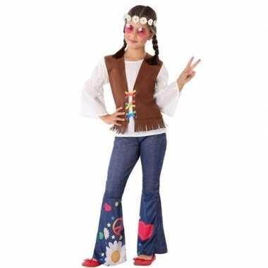 Hippie/flower power verkleed carnavalskleding meisjes arnhem