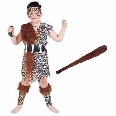 Holbewoner carnavalskleding maat m knots kinderen arnhem