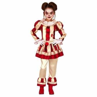 Horror clown candy verkleed carnavalskleding meisjes arnhem