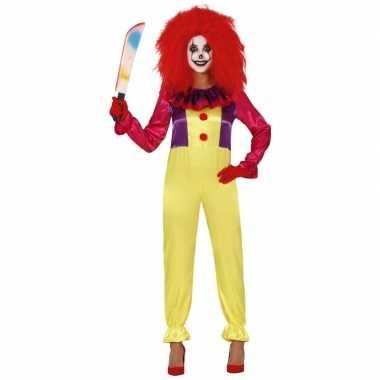 Horror clown freak verkleed carnavalskleding dames arnhem