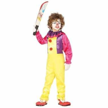 Horror clown freak verkleed carnavalskleding kinderen arnhem