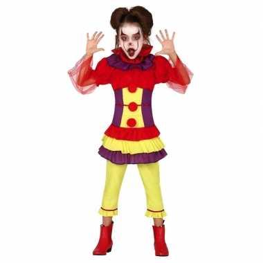 Horror clown penny verkleed carnavalskleding meisjes arnhem