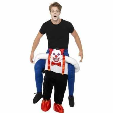 Instapcarnavalskleding enge horror clown volwassenen arnhem