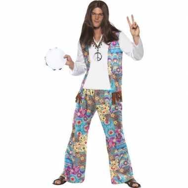 Jaren hippie carnavalskleding groovy heren arnhem