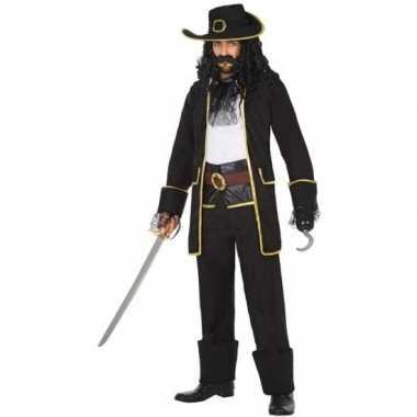 Kapitein piraat thomas verkleed carnavalskleding/carnavalskleding he