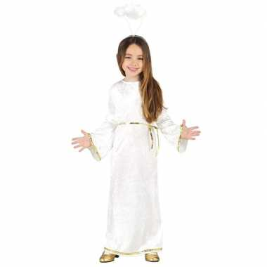 Kerst engel sariel verkleed carnavalskleding/jurk meisjes arnhem
