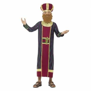 Koning balthazar carnavalskleding jongens koningen kerst carnavalskl