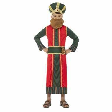 Koning caspar carnavalskleding jongens koningen kerst carnavalskledi