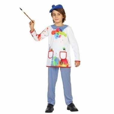 Kunstschilder verkleed carnavalskleding picassio kinderen arnhem