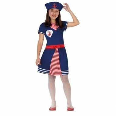Matrozen verkleed jurkje/carnavalskleding meisjes arnhem
