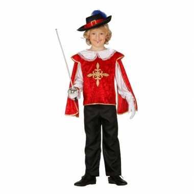 Musketiers carnavalskledings jongens arnhem