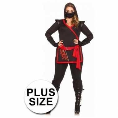 Carnavalskleding Dames Ninja.Ninja Carnavalskleding Dames Grote Maten Arnhem Carnavalskleding