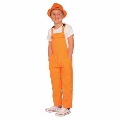 Oranje tuinbroek/carnavalskledingl kinderen arnhem