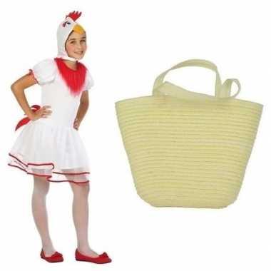 Paaskip carnavalskleding maat paasmandje meisjes arnhem