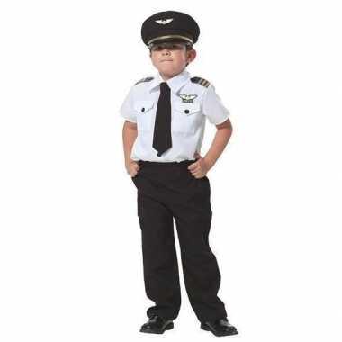 Piloot verkleed carnavalskleding jongens arnhem