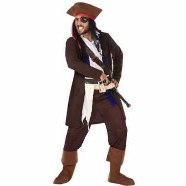Piraat christopher verkleed carnavalskleding/carnavalskleding heren