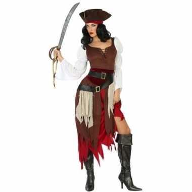 Piraat francis verkleed carnavalskleding/carnavalskleding dames arnh