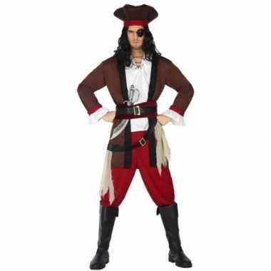 Piraat henry verkleed carnavalskleding/carnavalskleding volwassenen