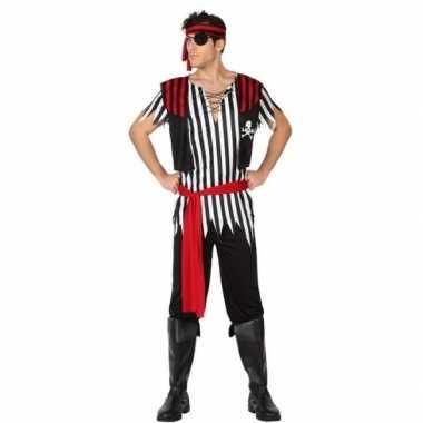 Piraat jack verkleed carnavalskleding/carnavalskleding heren arnhem