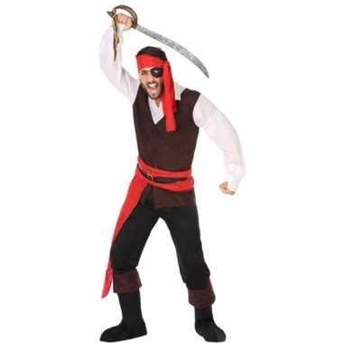 Piraat john verkleed carnavalskleding/carnavalskleding heren arnhem
