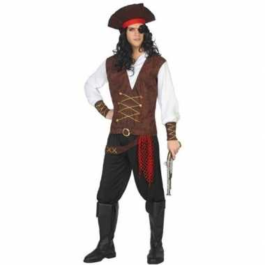 Piraat lewis verkleed carnavalskleding/carnavalskleding volwassenen