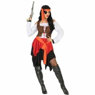 Piraat mary verkleed carnavalskleding/carnavalskleding dames arnhem