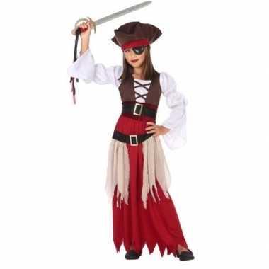 Piraten verkleed carnavalskleding/jurk meisjes arnhem