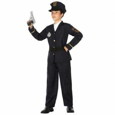 Politie agent carnavalskleding / verkleed carnavalskleding jongens a