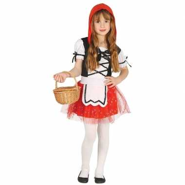 Roodkapje verkleed carnavalskleding/jurkje meisjes arnhem